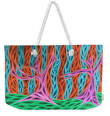 Alien Moon Dance Weekender Tote Bag