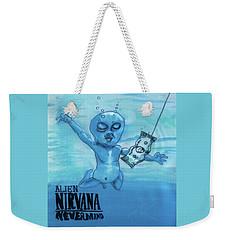 Alien Nevermind Weekender Tote Bag