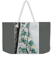 alien Photo Booth  Weekender Tote Bag