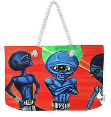 Alien Posse Weekender Tote Bag