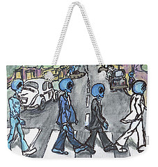 Alien Road Weekender Tote Bag