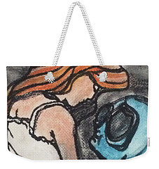 Alien Seduction Weekender Tote Bag