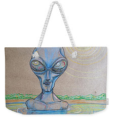 Alien Submerged Weekender Tote Bag