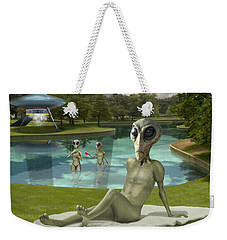 Alien Vacation - St. Louis Weekender Tote Bag by Mike McGlothlen