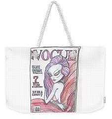 Alien Vogue Weekender Tote Bag