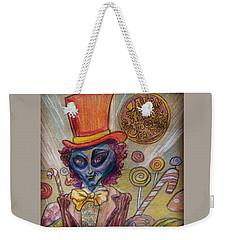 Alien Wonka And The Chocolate Factory Weekender Tote Bag