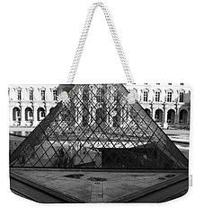 Aligned Pyramids At The Louvre Weekender Tote Bag