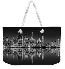 Weekender Tote Bag featuring the photograph Alive At Night by Az Jackson