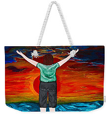 Alive Weekender Tote Bag by Cheryl Bailey