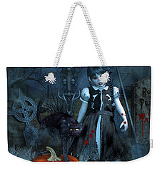 Alive Or Undead Weekender Tote Bag by Jutta Maria Pusl