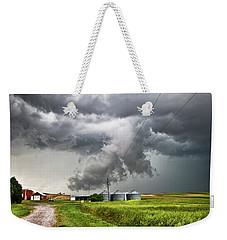 Alive Sky In Wyoming Weekender Tote Bag