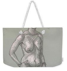 Alizabeth Kneeling Weekender Tote Bag