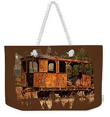 All Aboard Weekender Tote Bag by Thom Zehrfeld