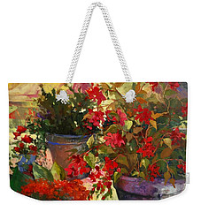 All About Red Weekender Tote Bag