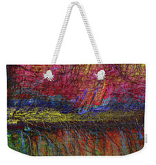 All Along The Shore Line Weekender Tote Bag by David Pantuso
