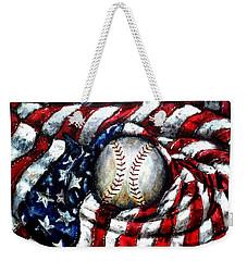 All American Weekender Tote Bag