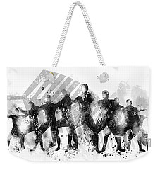 All Blacks Haka Weekender Tote Bag by Marlene Watson
