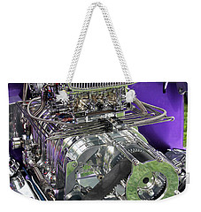 All Chromed Engine With Blower Weekender Tote Bag