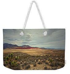 Weekender Tote Bag featuring the photograph All Day by Mark Ross