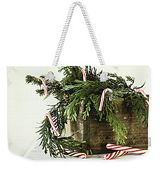 Weekender Tote Bag featuring the photograph All Dressed Up by Kim Hojnacki
