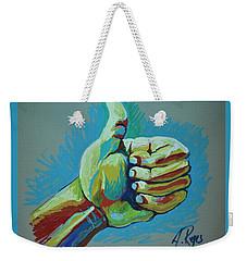 All Good Weekender Tote Bag