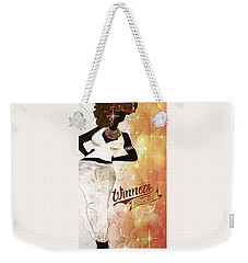 All I Do Is Win Weekender Tote Bag by Romaine Head