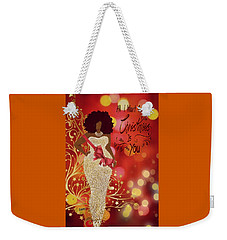 All I Want Weekender Tote Bag by Romaine Head