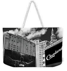 All In Cleveland Weekender Tote Bag
