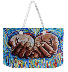 All In Your Hands Weekender Tote Bag