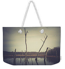 Weekender Tote Bag featuring the photograph All Is Calm At Green Bottom by Shane Holsclaw
