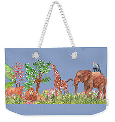 All Is Well In The Jungle Weekender Tote Bag
