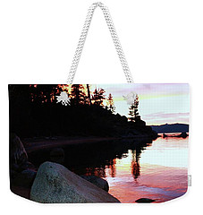 Weekender Tote Bag featuring the photograph All Life Is Precious by Sean Sarsfield