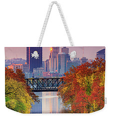 All Pittsburgh Pink  Weekender Tote Bag