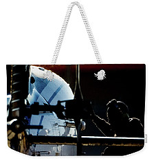Weekender Tote Bag featuring the photograph All Ready by Paul Job