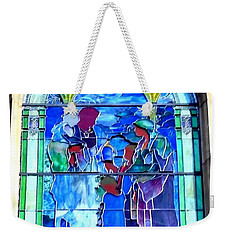 All Saints' Stained Glass Weekender Tote Bag