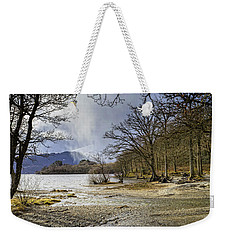 Weekender Tote Bag featuring the photograph All Seasons At Loch Lomond by Jeremy Lavender Photography