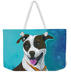 All Smiles Digitized Weekender Tote Bag