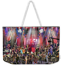 All Star Jam Weekender Tote Bag by Don Olea