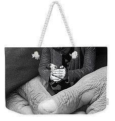 All That Is Precious Weekender Tote Bag by I'ina Van Lawick