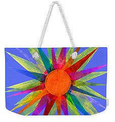 All The Colors In The Sun Weekender Tote Bag