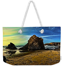 All The Gold In California Weekender Tote Bag