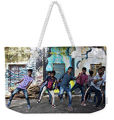 All The Moves Weekender Tote Bag