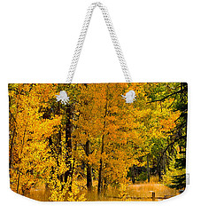 All The Soft Places To Fall Weekender Tote Bag by Mitch Shindelbower