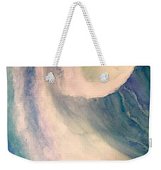 Weekender Tote Bag featuring the painting All The Wave by Allison Ashton