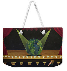 All The World's On Stage Weekender Tote Bag by Thomas Blood