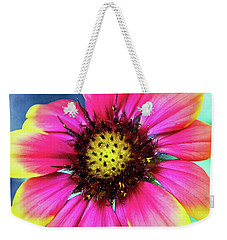 Weekender Tote Bag featuring the photograph Look On The Bright Side by Jessica Manelis