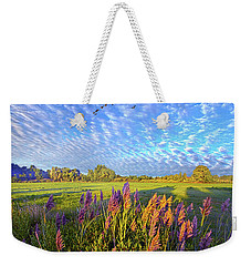 All Things Created And Held Together Weekender Tote Bag