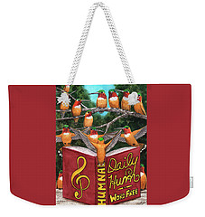 All Together Now. Weekender Tote Bag