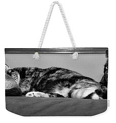All Tuckered Out Weekender Tote Bag