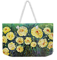 All Yellow Roses Weekender Tote Bag